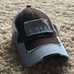 Loveless Cafe (Nashville) Destroyed Ball Cap Hat